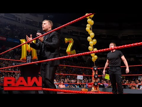 Dean Ambrose crashes The Miz