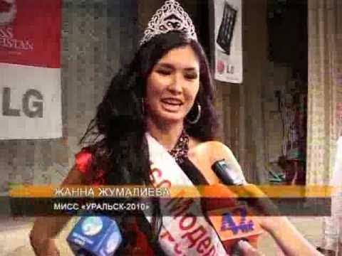 Miss Kazakhstan 2010 as Miss Uralsk