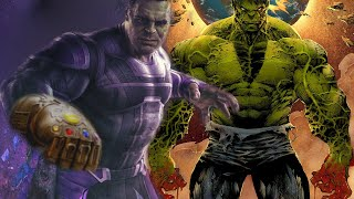 WORLD BREAKER HULK In Avengers Endgame