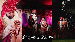 Bhakti and Divyam_Cinematic Wedding Film || Love saga