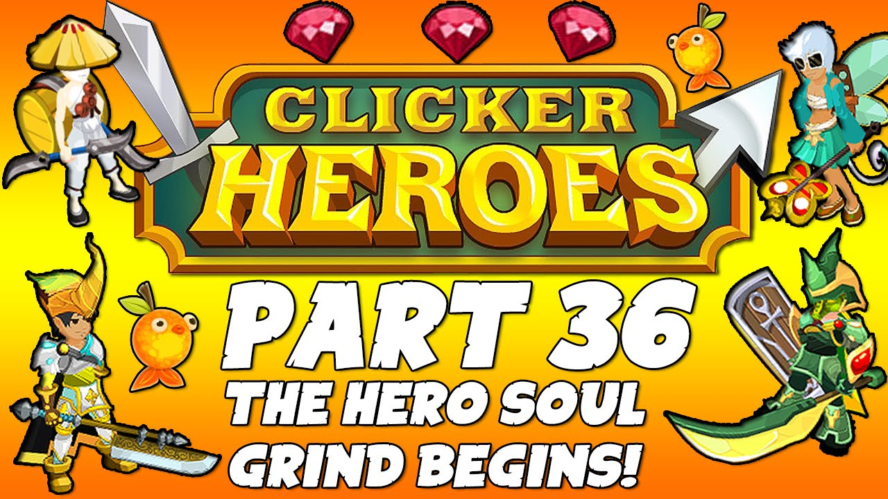how to get a hero soul in clicker heroes