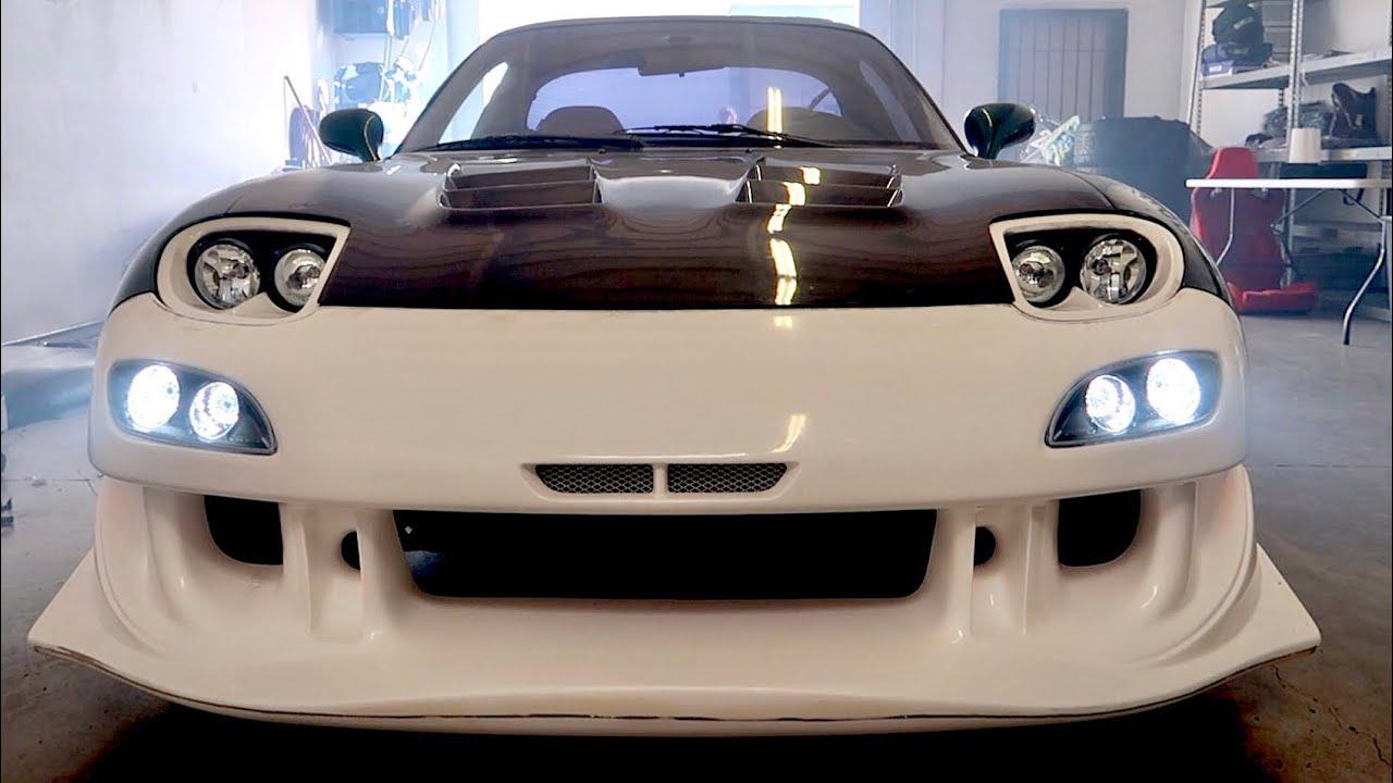 Tj Hunt White Brz >> Adding Bumper Lights to my RX-7 [Car Shop GLOW] Download