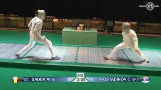 Novi Sad European Championships 2018 Day06 T16 MS ROU vs SRB