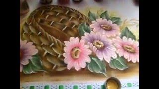 Como pintar gerberas por Simone Moraes