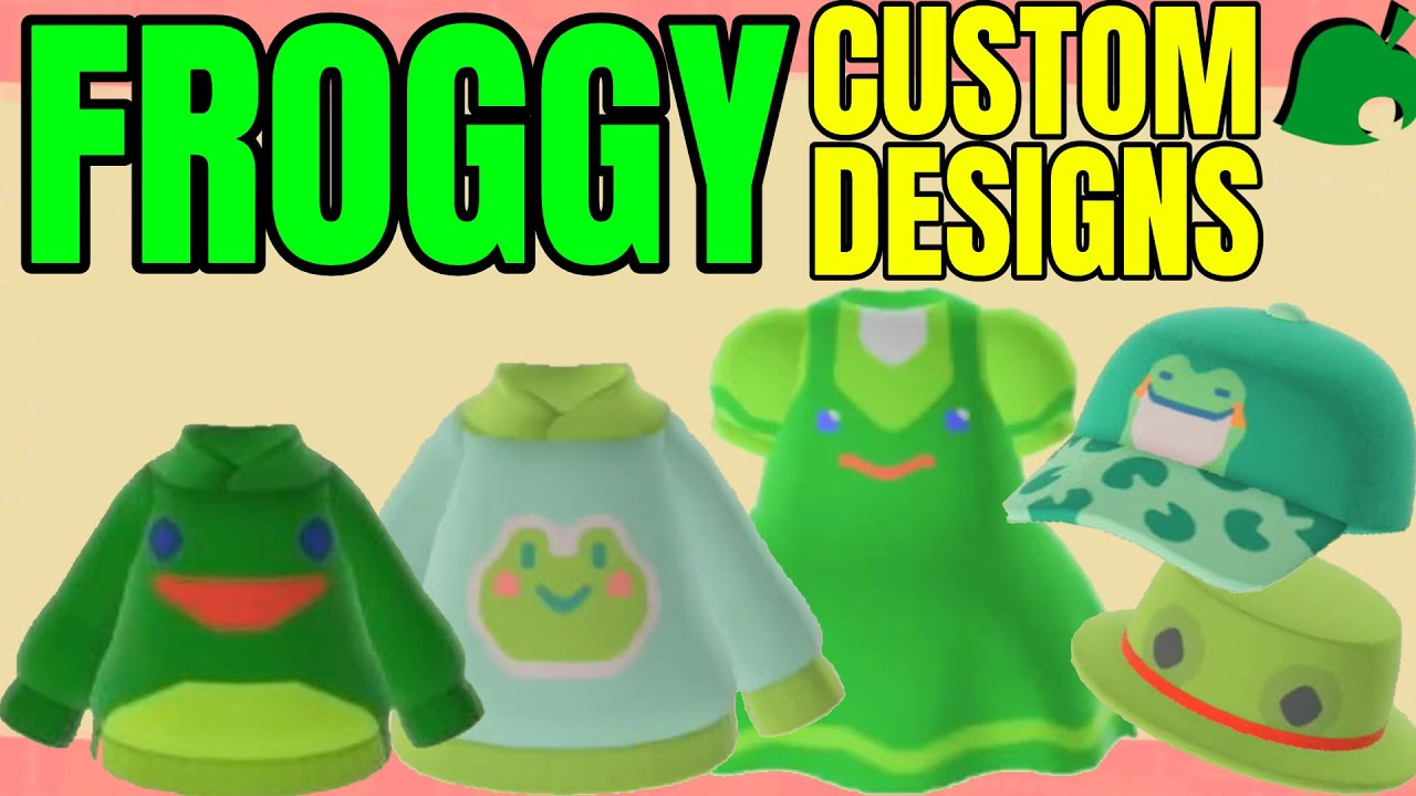 Froggy Custom Design Codes Animal Crossing New Horizons Clothes