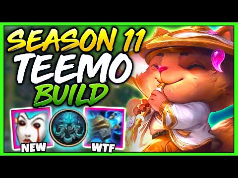 *BRAND NEW* SEASON 11 ITEMS SNEAK PREVIEW! IS TEEMO S+ TIER THIS SEASON!? - League of Legends