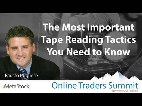 The Most Important Tape Reading Tactics You Need to Know