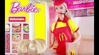 McDonald's Happy Meal at Barbie Playset Review