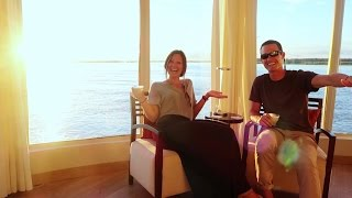 OUR FAVORITE ROOM EVER   Amazon Luxury Cruise