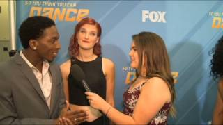 Back stage Interview with Neptune & Kate Harppoontlian at SYTYCD 7/28/2015