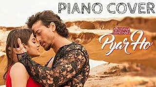PYAR HO (Instrumental) Piano cover with chord   Munna Michael   Vishal Sunidhi   BY stavan2231