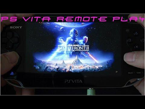STAR WARS Battlefront II (Beta)  Remote Play on PS Vita