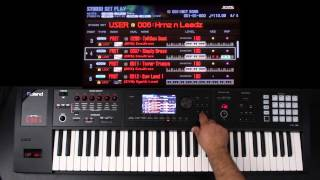 Roland FA-06/08 - Advanced Layers and Splits 02 - Part 2