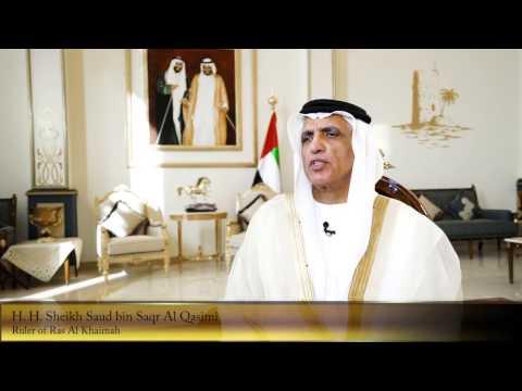 H. H. Sheikh Saud bin Saqr Al Qasimi on AURAK
