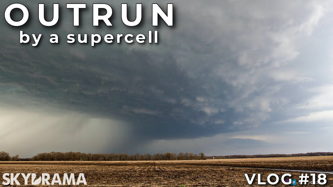OUTRUN | Skydrama VLOG | Supercell in Southwest Illinois on March 27th 2021 - 1st storm of the year!