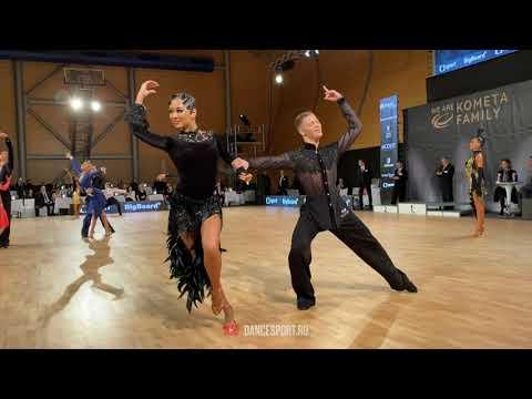 Yaroslav Kiselev - Sofia Philipchuk RUS, #Rumba / WDSF European Ch. Youth 10 Dance