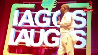 Seyi Law and Gordons Cracks Crowd Up at Lagos Laughs2