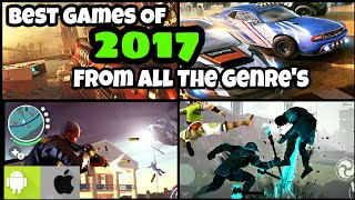 BEST OFFLINE/ONLINE Games Of Android And iOS From All Genre