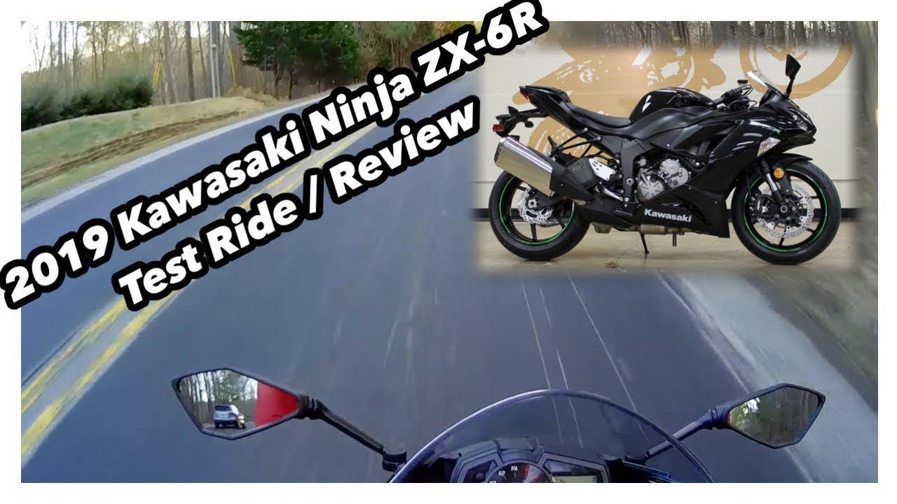 2019 Kawasaki ZX6R Test Ride / Review