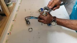 Výměna kartuše ve vodovodní baterii