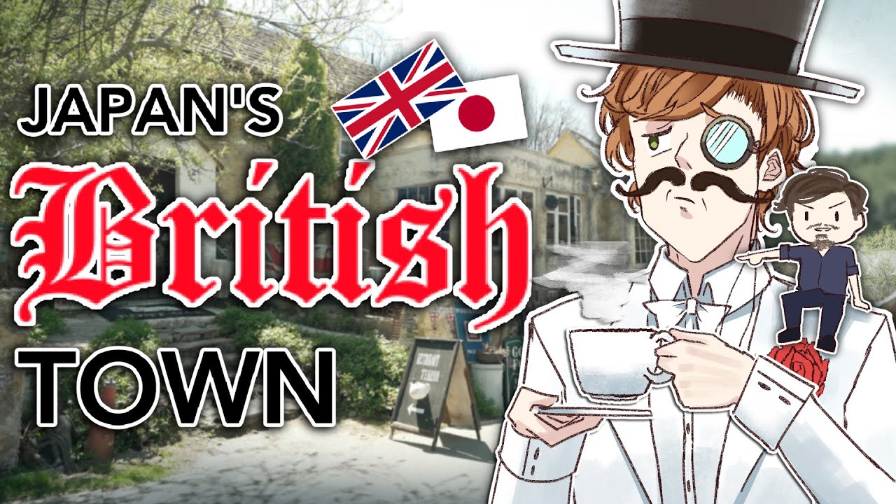 I Tried Japan's Secret British Town Ft.@Abroad in Japan