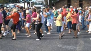 Hot Springs Village Flash Mob .wmv