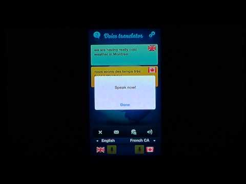 IOS Ipad Iphone Voice Translator app review
