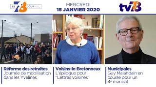 7/8 Le journal. Edition du mercredi 15 janvier 2020