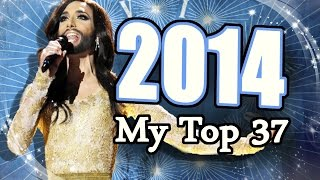 Eurovision Song Contest 2014 - My Top 37 [HD w/ Subbed Commentary]