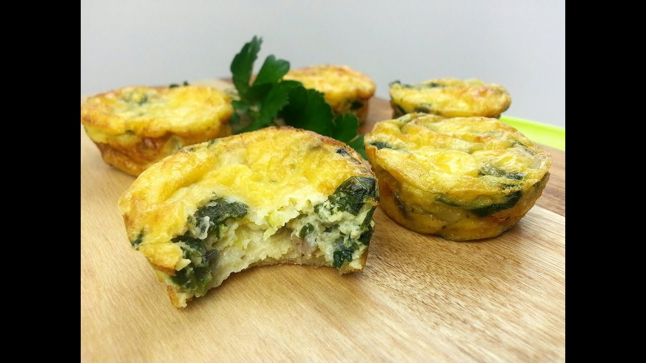 Mini Vegetarian Quiches How To Youtube