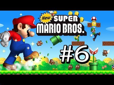 Guía New Super Mario Bros DS # 6 ( Mundo : 2 - Mapa : 3 y A )