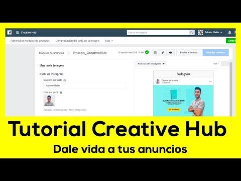 Tutorial Creative Hub: Inspira, explora y comparte tus anuncios de #Facebook
