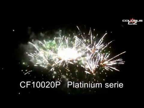 Pyrotechnika Kompakt 100 ran / 20mm Platinum Series šikmý