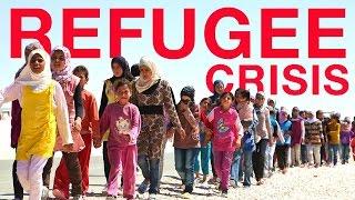 Европейский кризис из-за наплыва беженцев, война в Сирии - разъяснение