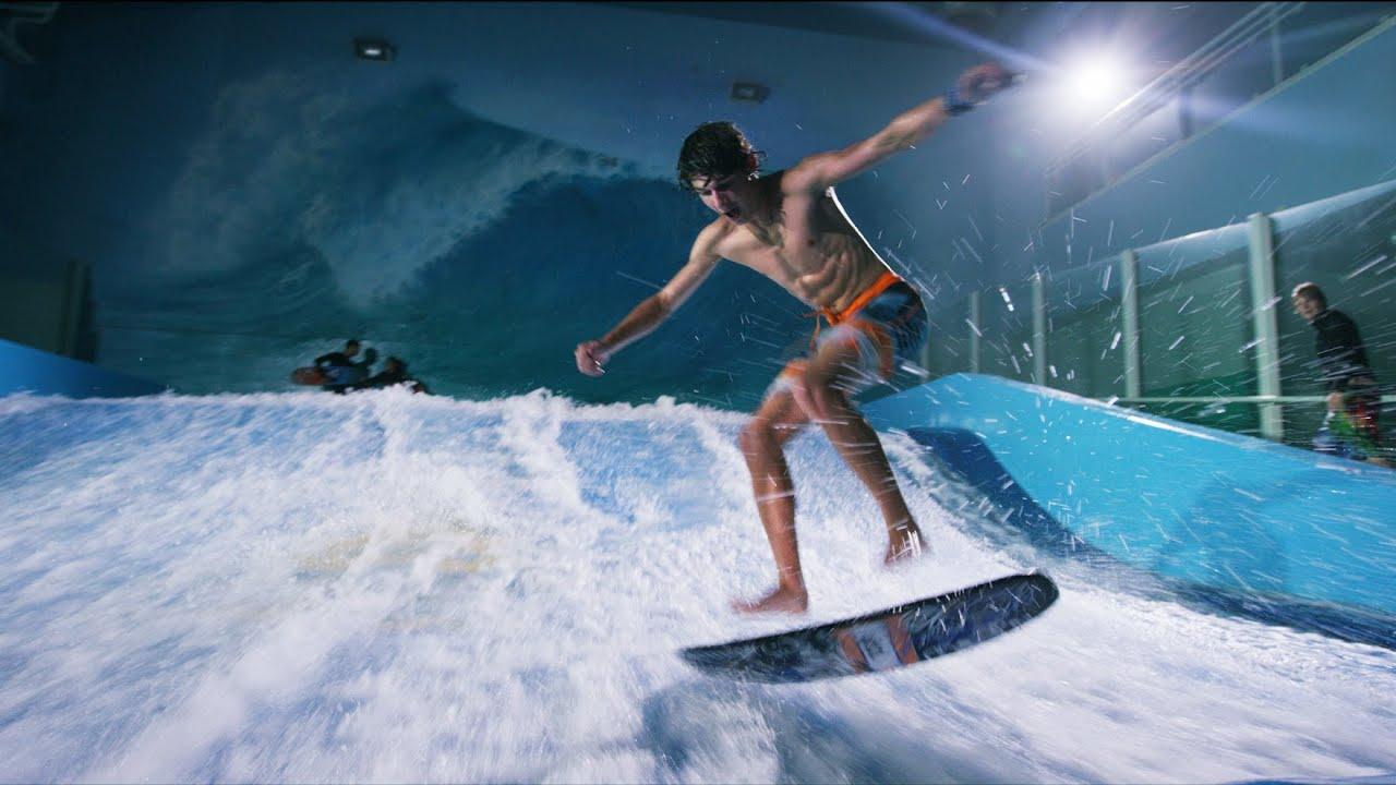 Behind The Scenes Surfing Indoors