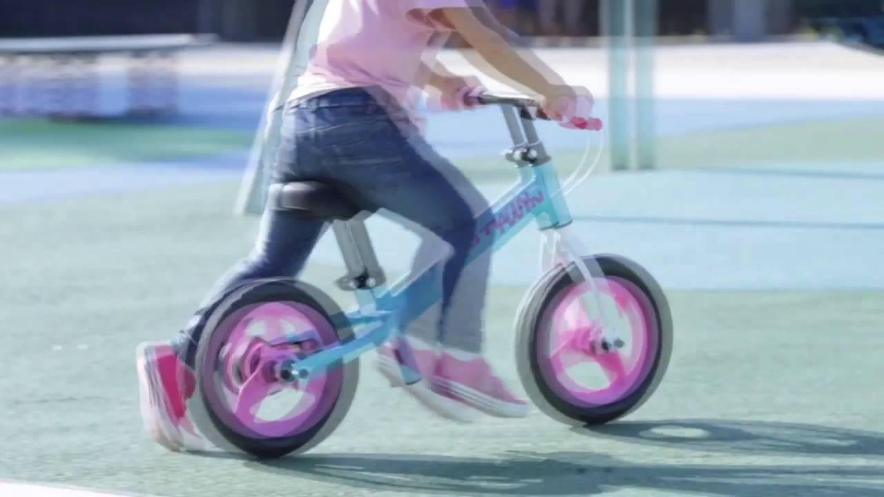 323c584b30 Bicicleta infantil RunRide B'twin - Exclusividade Decathlon - YouTube