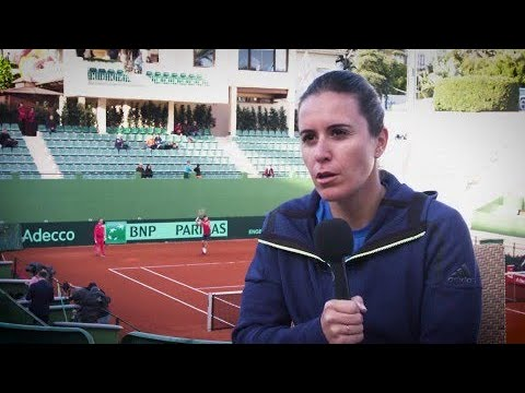 Anabel Medina Garrigues on taking charge of Spain's Fed Cup team