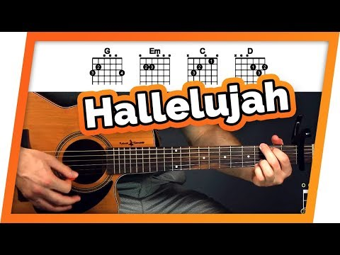 Hallelujah Guitar Tutorial (Jeff Buckley) Easy Chords Guitar Lesson