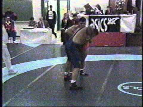 1992 Pan-American Championships: 130 kg Final Andrew Borodow (CAN) vs. Matt Ghaffari (USA)