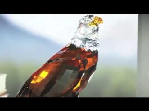 68a7e8eca CRYSTAL PALACE - SWAROVSKI The Bald Eagle, Numbered Limited Edition 2011