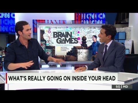 "CNN's Dr. Sanjay Gupta plays ""Brain Games"""