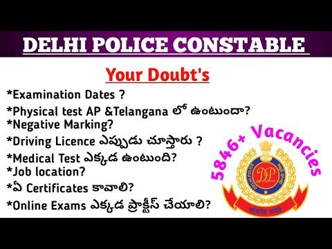 SSC DELHI POLICE CONSTABLE EXECUTIVE 5846+ || Your Doubt's || #documentverification #sscdelhipolice