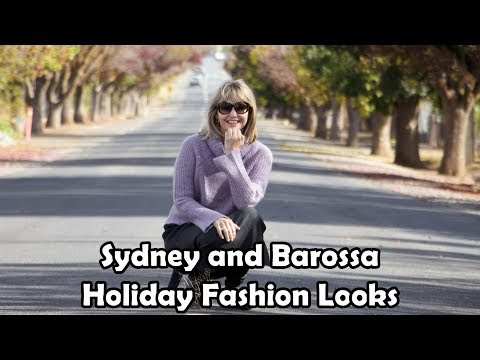 Fashion Looks -- Holiday To Sydney And The Barossa Valley Wine Region In South Australia
