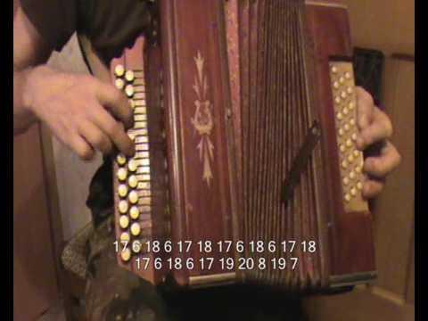 Как играть частушки на гармошке