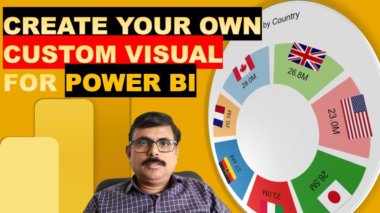 Power BI - Create your own Custom Visuals -  Tutorial