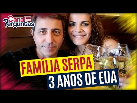 🔴[AO VIVO] Três anos de EUA com a família Serpa ✔