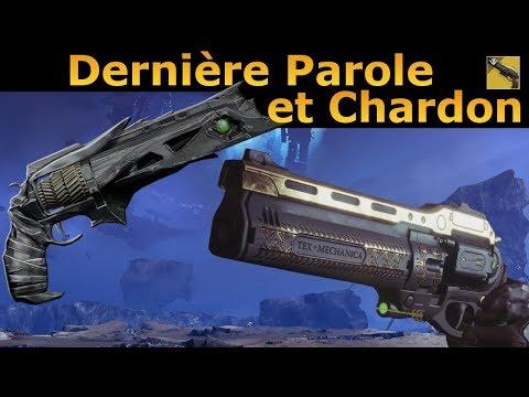 Destiny 2 : Dernière Parole et Retour Confirmé du Chardon, toute les News ! thumbnail