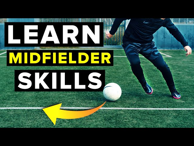 Learn unpredictable skills that will make you a BETTER MIDFIELDER!