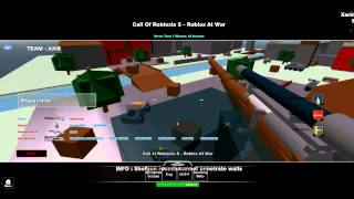 Z kamerą w klockach: Call of Robloxia 5 Roblox at War