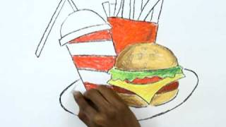 How to Draw a Junk Food